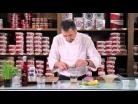 Caldo de almejas Cuca con cítricos, ostra y manzana por Pepe Solla - 2013