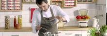 Receta de Navajas Cuca con jugo de cebolla tostada y finas láminas de tocino por Javier Olleros